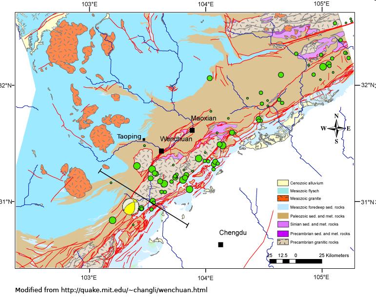 Washington Fault Line Map | Afputra.com
