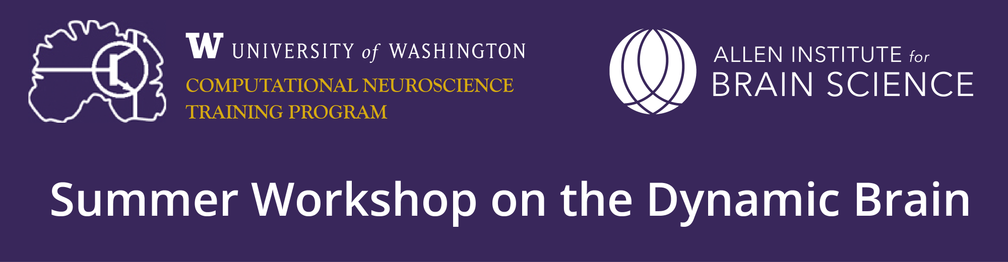 Summer Workshop on the Dynamic Brain