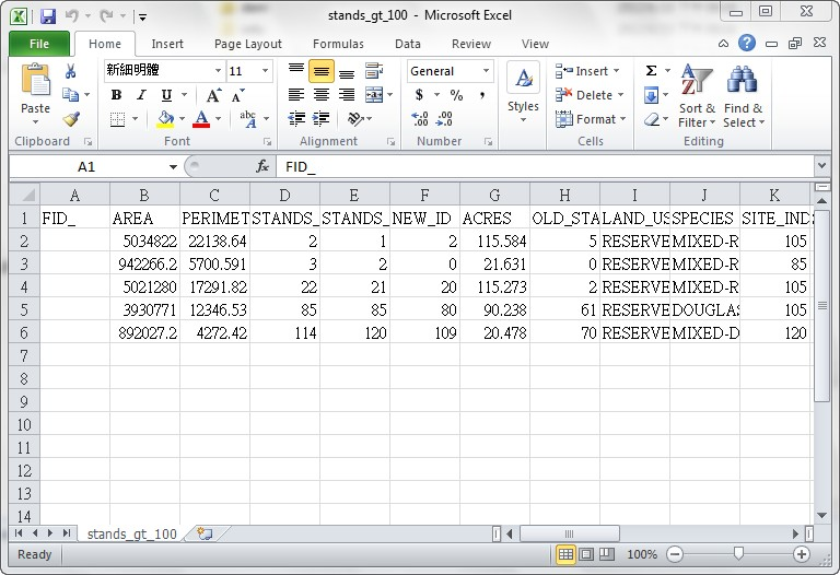Creating and modifying tables esrm 250 sefs 520 - How to create a table in wordpad ...