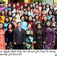 Group of Vietnamese Women Representatives