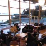 "meeting in ""The Rix"" building"