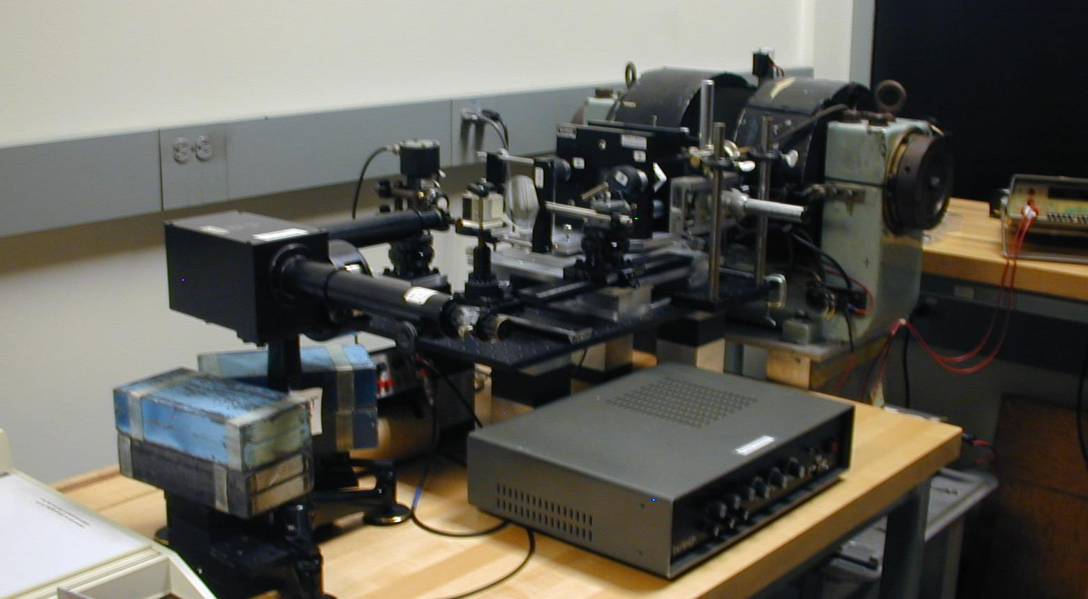 michelson interferometer lab report Michelson interferometer abstract a michelson interferometer, constructed by the student, is used to measure the wavelength of he-ne laser light and the index of refraction of a flat transparent sample references taylor, zafiratos and dubson, modern physics, second edition, section 15 pre-lab please do this section.