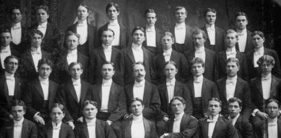 UW Men's Glee Club circa 1895 (University of Washington Libraries, Special Collections, negative UW 6226)