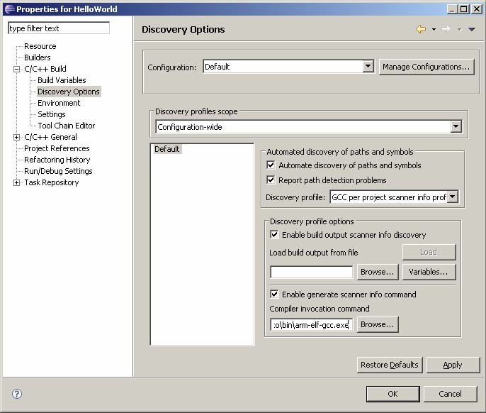 Eclipse Installation Guide — EmbSys 2012 documentation