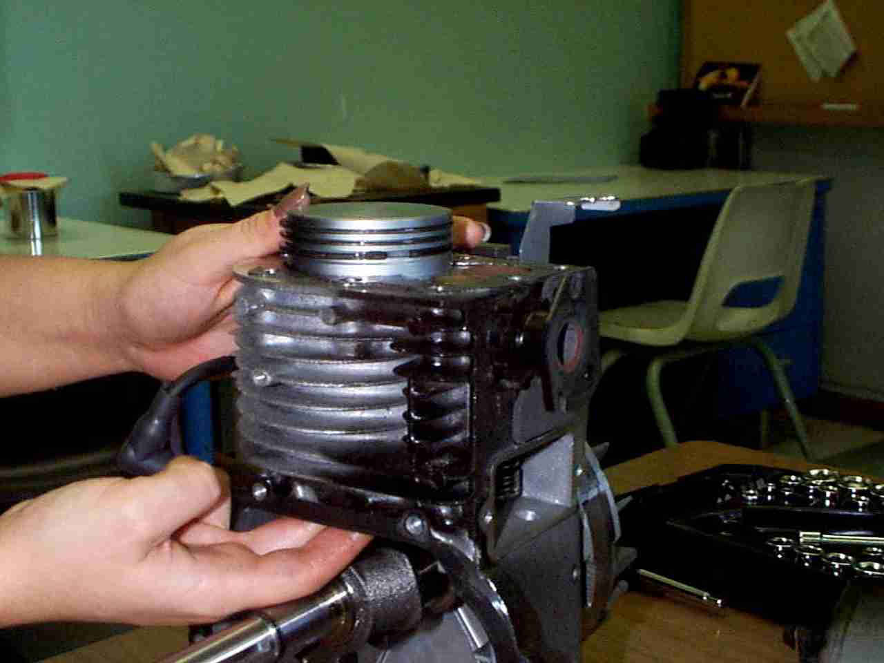 Piston and Connecting Rod Removal