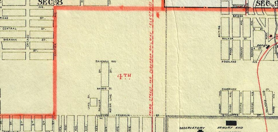 O Block Chicago Map.1896 Anderson Map Of Block Area University District Stories