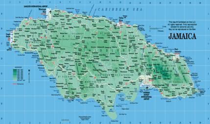 Jamaica's Geography